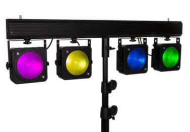 LED Scheinwerfer Verleih Weinheim und Viernheim