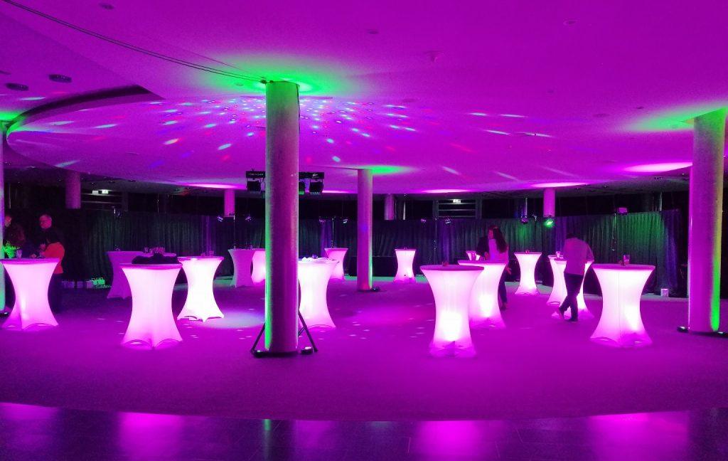 Ambiente Beleuchtung zur Hochzeit