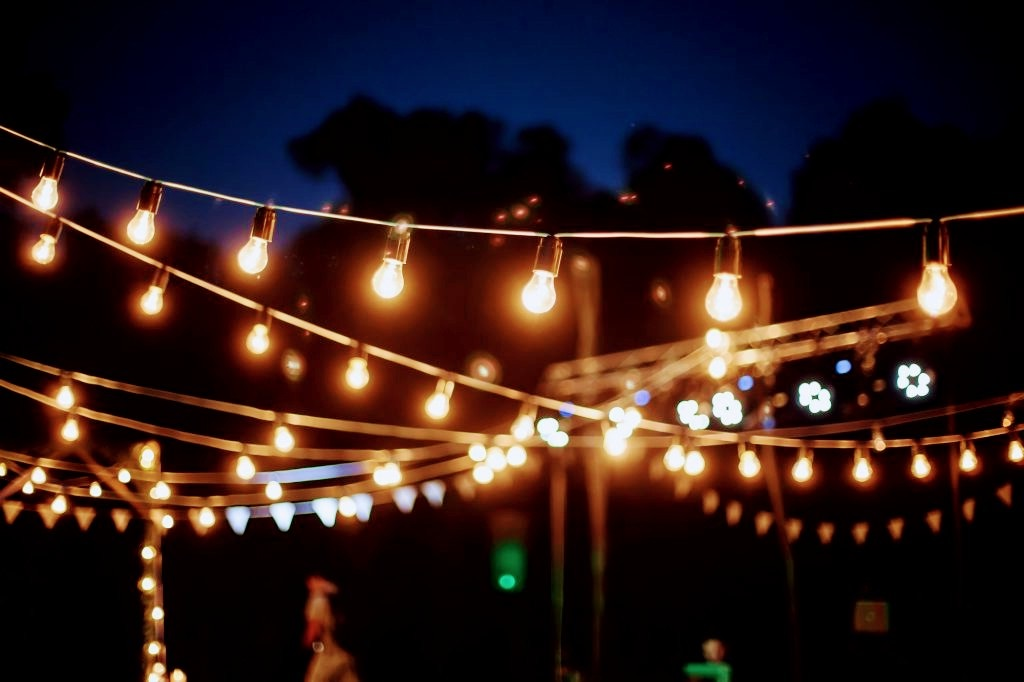 Lichterkette mieten Hochzeit